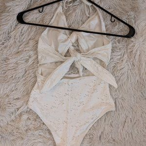 Cutout Swimsuit One Piece